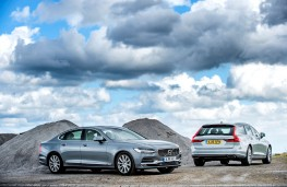 Volvo S90 and V90, static