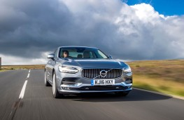 Volvo S90, 2016, front, action