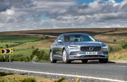 Volvo S90, front, action