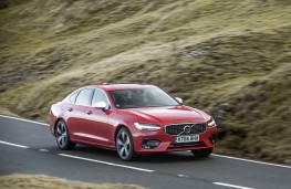 Volvo S90 R-Design, 2017, front, action