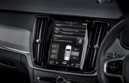 Volvo S90 R-Design, 2017, Sensus display screen