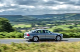 Volvo S90, side, action