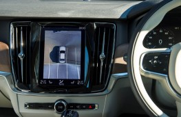 Volvo S90, 2016, display screen