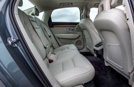 Volvo S90, 2016, rear seats