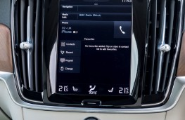 Volvo S90, Sensus screen