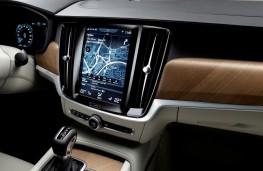 Volvo S90, 2016, touchscreen