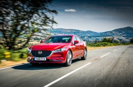 Mazda6 Saloon, 2018, front, action