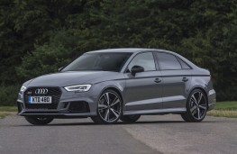 Audi RS 3 saloon, 2017, front