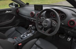 Audi RS 3 saloon, 2017, interior