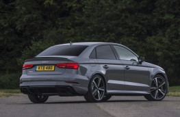 Audi RS 3 saloon, 2017, rear