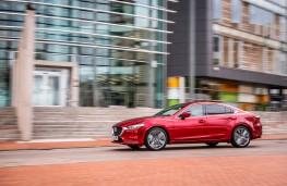 Mazda6 Saloon, 2018, side, action