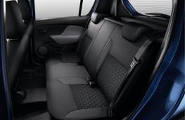 Dacia Sandero, rear seats