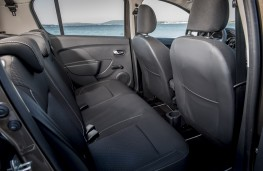 Dacia Sandero, 2017, rear seats