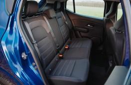 Dacia Sandero, 2021, rear seats