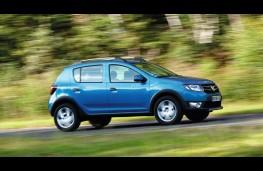 Dacia Sandero Stepway, side, action