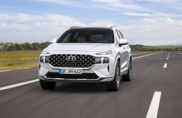 Hyundai Santa Fe, 2020, front