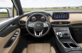Hyundai Santa Fe, 2020, interior