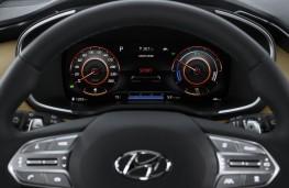 Hyundai Santa Fe, 2020, instrument panel