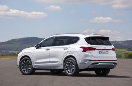 Hyundai Santa Fe, 2020, rear