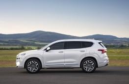 Hyundai Santa Fe, 2020, side