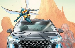 Hyundai Santa Fe, Ant-Man and The Wasp, 2018, poster