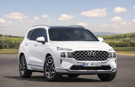 Hyundai Santa Fe, 2021, front