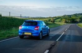 Suzuki Swift Attitude, 2019, rear, action
