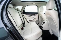 Jaguar XF Sportbrake, 2021, rear seats
