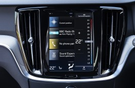 Volvo S60, 2019, Sensus display screen