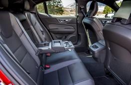 Volvo S60, 2019, rear seats