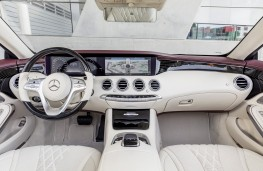 Mercedes-Benz S-Class Cabriolet, 2017, interior