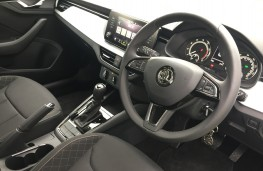 Skoda Scala DSG, 2019, dashboard