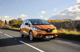 Renault Scenic, 2016, front