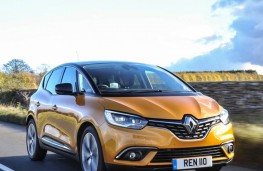 Renault Scenic, 2016, upright