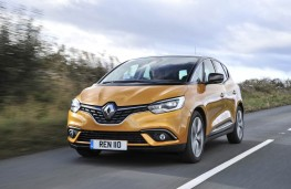 Renault Scenic, front, action