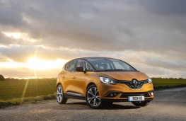 Renault Scenic, 2016, front, static
