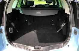 Renault Scenic, 2016, boot, seats folded