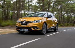 Renault Scenic, 2016, front, action