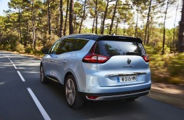 Renault Grand Scenic, 2016, rear, action