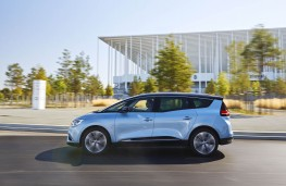 Renault Grand Scenic, 2016, side, action