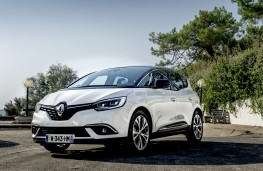 Renault Scenic hybrid assist, 2016, front