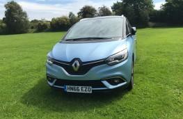 Renault Grand Scenic, 2017, nose