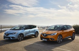 Renault Grand Scenic and Scenic, 2016, static