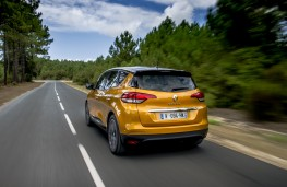 Renault Scenic, 2016, rear, action