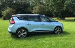 Renault Grand Scenic, 2017, side, static