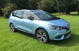 Renault Grand Scenic, 2017, side