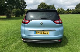 Renault Grand Scenic, 2017, tail