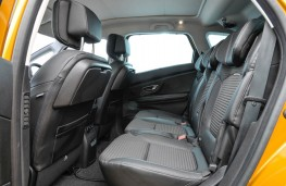 Renault Scenic, 2016, rear seats