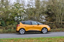 Renault Scenic, 2016, side, action