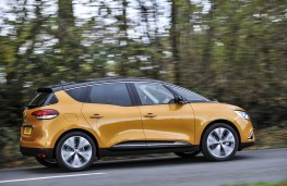 Renault Scenic, side, action